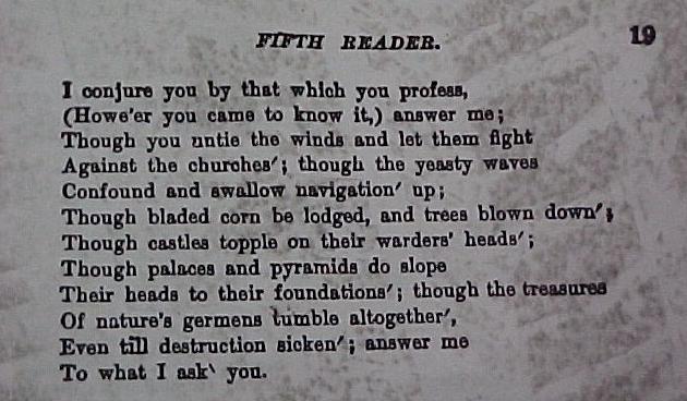 river bank poem